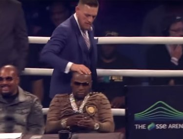Mayweather McGregor Press Conference London