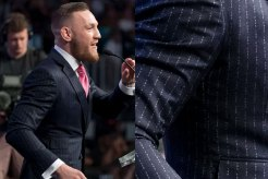 Conor McGregor custom suit