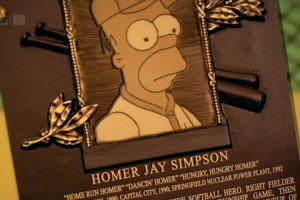 Here's How Homer Simpson Made it to the MLB Hall of Fame