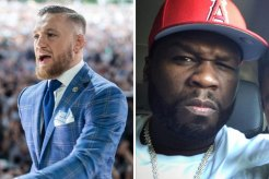 Conor McGregor and 50 Cent