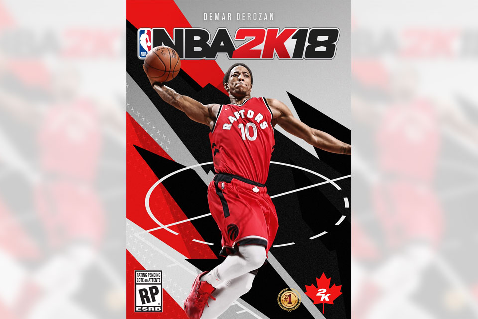 National Basketball Association 2K18 DeMar DeRozan Cover Announced for Canada