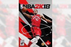 DeMar DeRozan First Canadian Cover For NBA 2K18