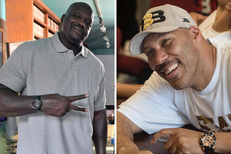 Shaquille O'Neal and LaVar Ball