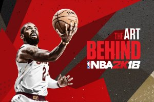 NBA 2K18 behind the art