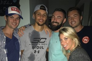 Stephen Curry Crashes Random Party