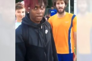 Dude Runs Up on Lil Dicky