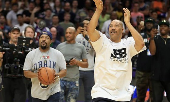 Ice Cube Defeats LaVar Ball in BIG3 4-Point Challenge