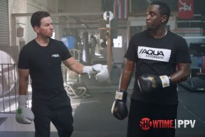 Diddy Mark Wahlberg Bet on Mayweather-McGregor Fight