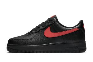Nike Air Force 1 Low Black Leather
