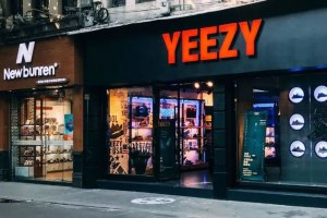 Fake YEEZY Store in China