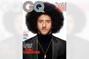 Colin Kaepernick Citizen of the Year GQ Cover