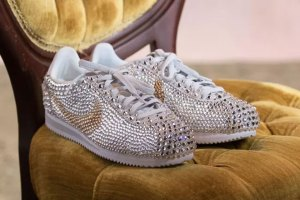 Serena Williams Nike Cortez at her Wedding e838d12c8