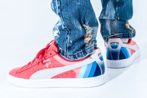 PUMA x Pink Dolphin Clydes