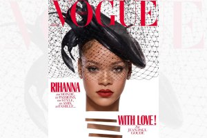 Rihanna Vogue Paris Christmas Issue