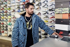 Scott Disick Sneaker Shopping