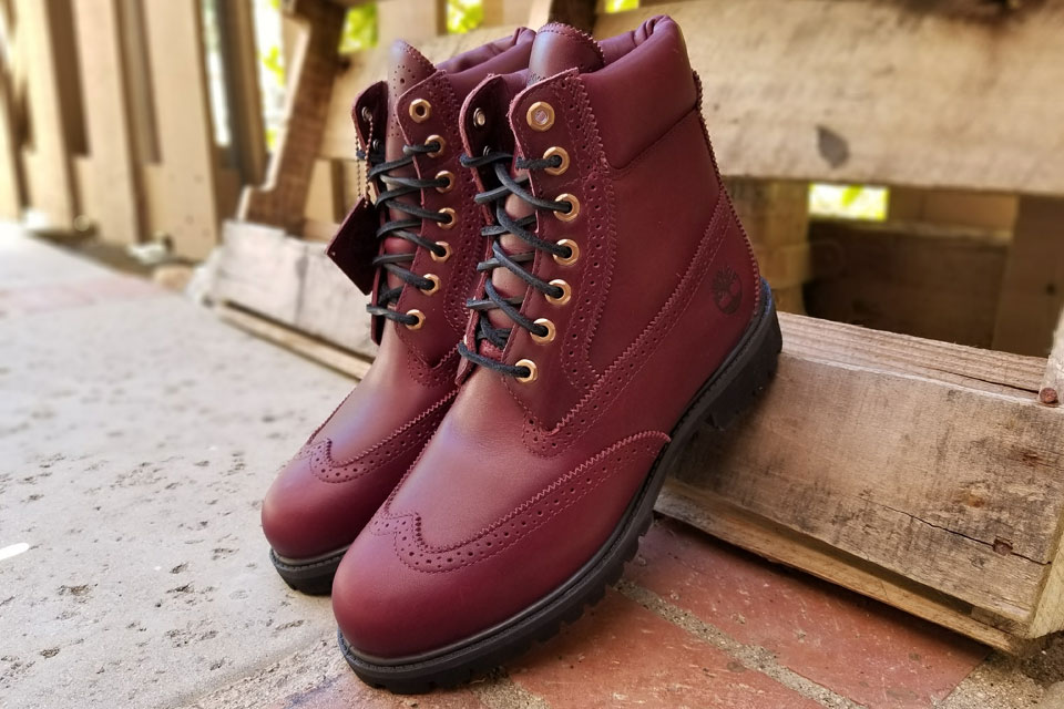 Timberland 6-Inch Brogue Footaction Exclusive