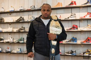 Daniel Cormier Goes Sneaker Shopping