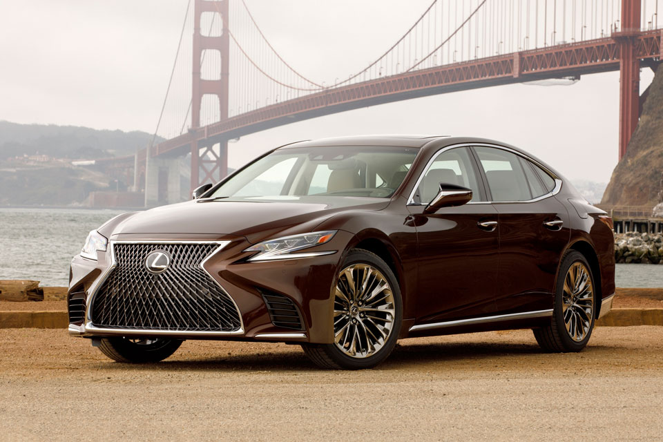 First Look At The 2018 Lexus Ls