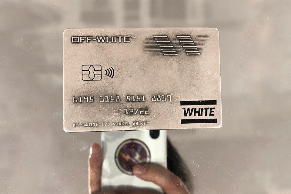 Off-White Credit Card-Inspired Money Clip