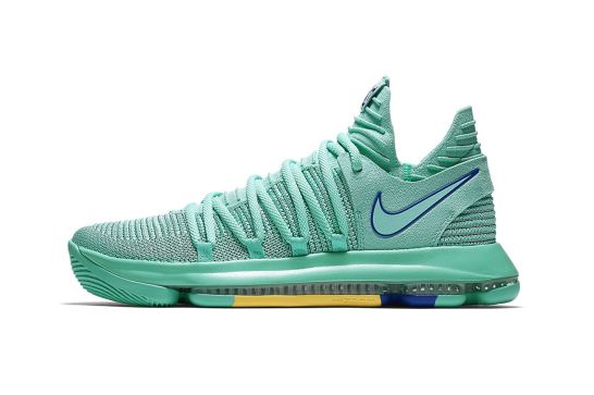 Nike KD10 City Edition Hyper Turquoise