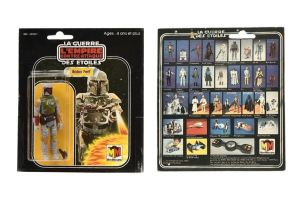 Star Wars Figurines Hit eBay Auction