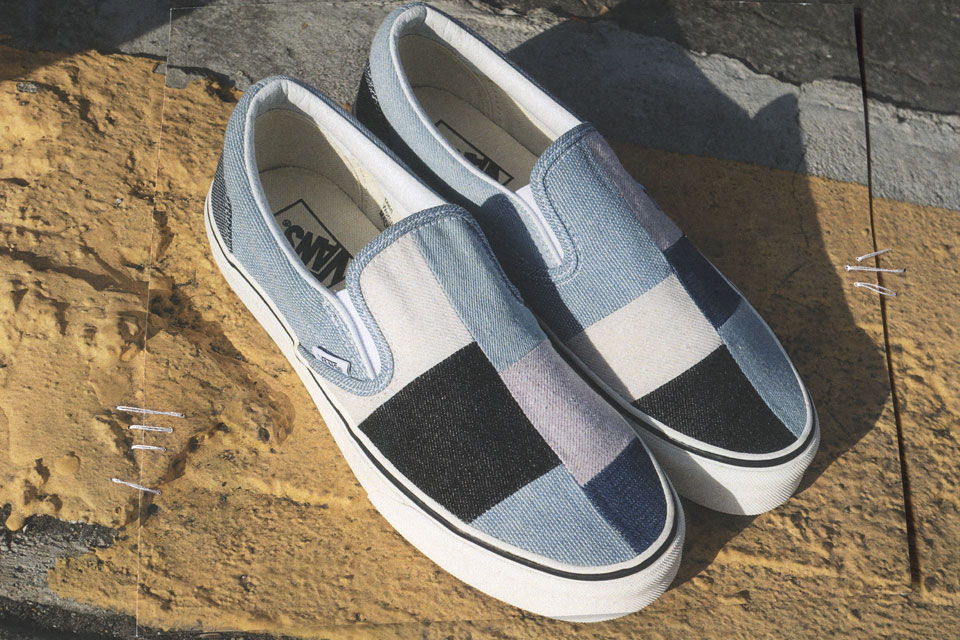 4f5d05f67c Vans Drops Patchwork   Denim Construction Classics Pack