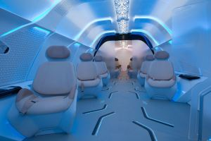 Virgin Hyperloop One interior design