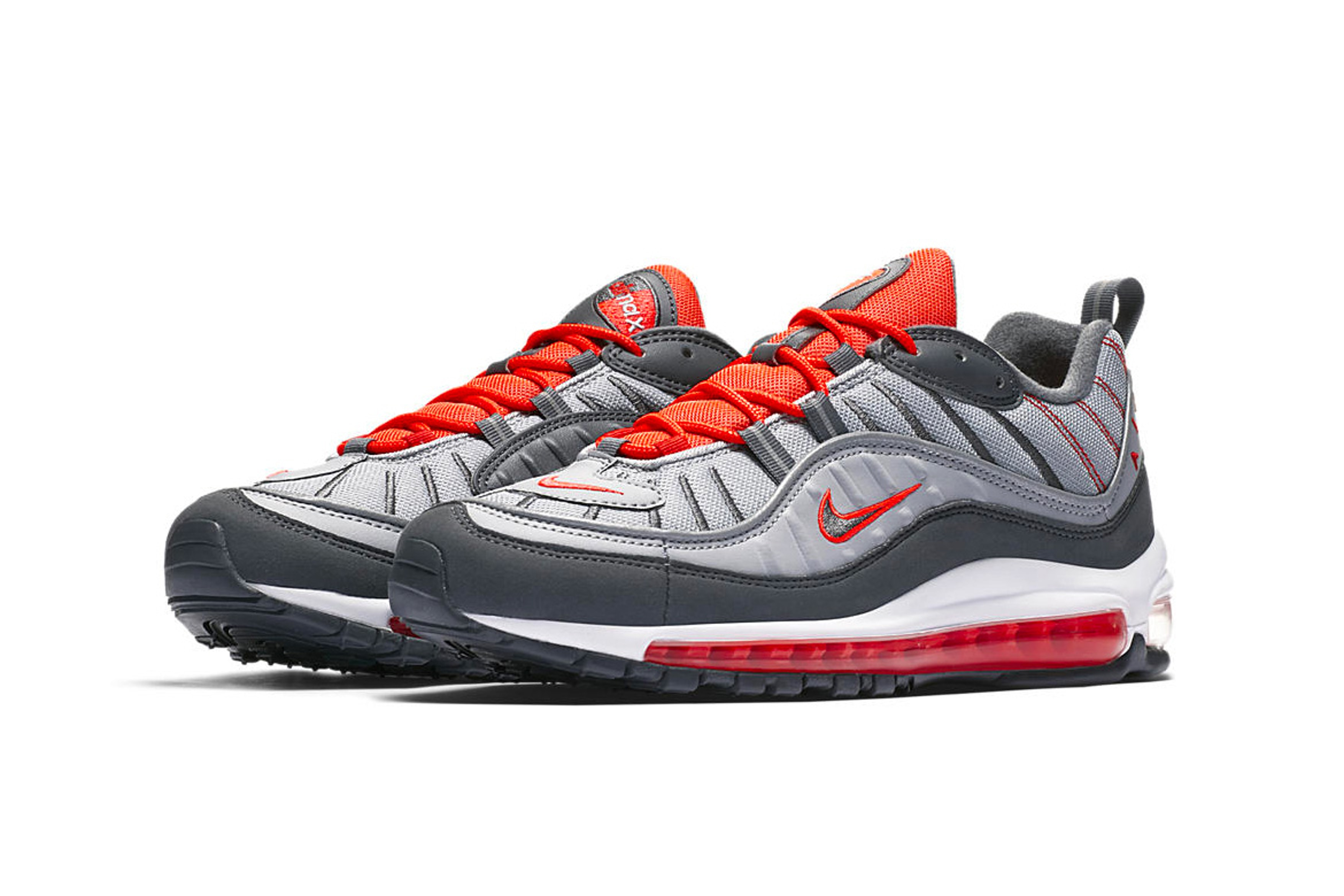 buy online acffd e68e7 Nike Air Max 98 Habanero Red