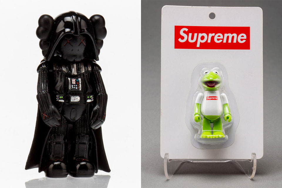 Largest Supreme KAWS BAPE toy collection