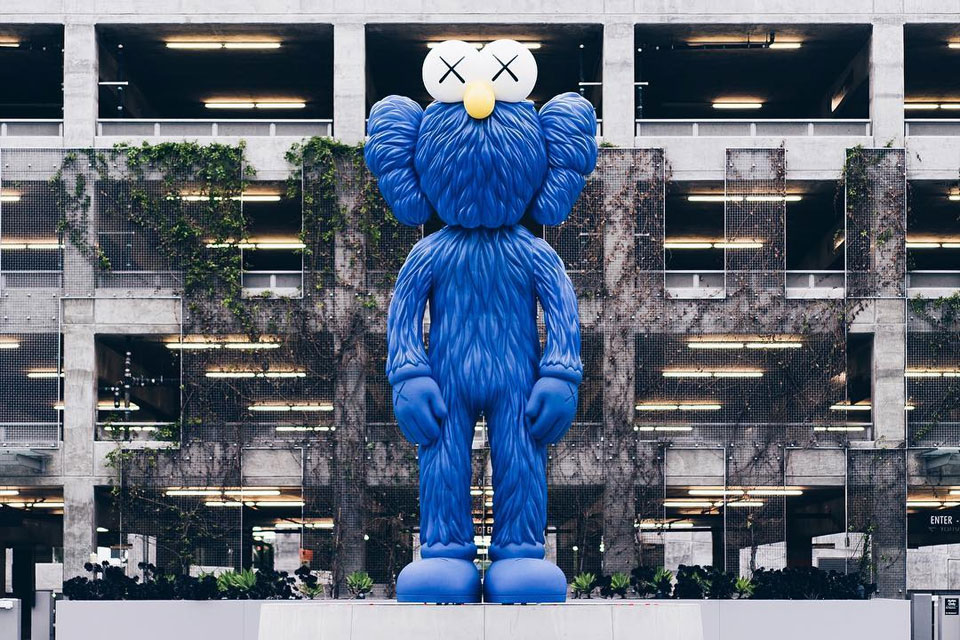 KAWS BFF Companion in LA