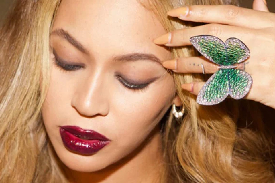 Beyonce and Papillon ring
