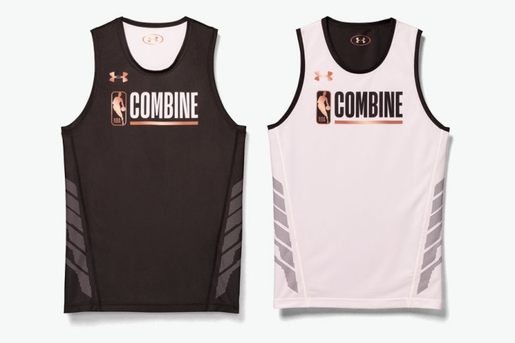 Under Armour x NBA Combine collection
