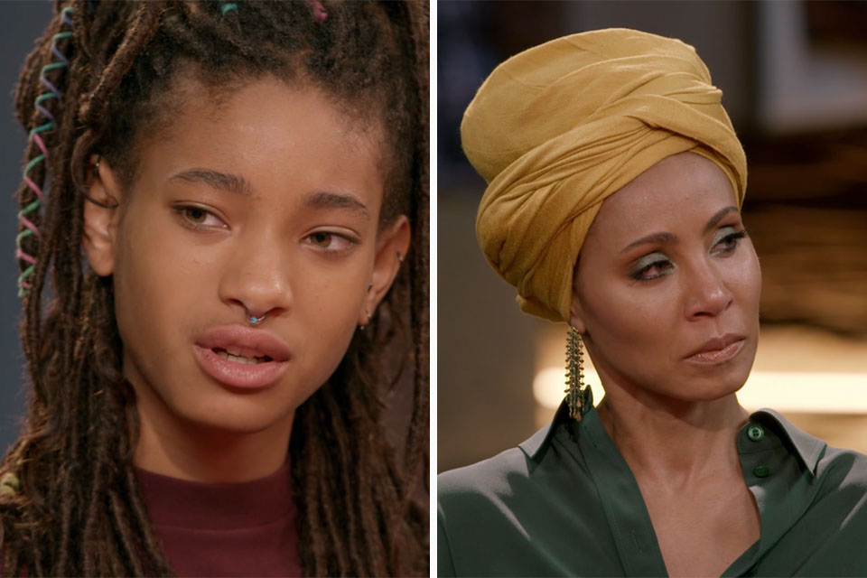 Willow Smith and Jada Pinkett-Smith