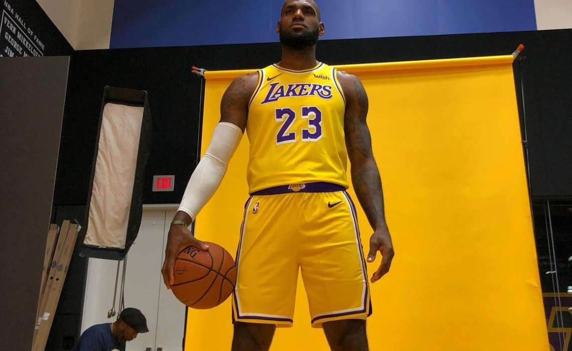 LeBron James at Lakers