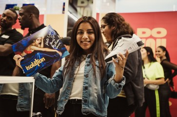 PUMA Cali Launches at Shoe Palace Melrose With Kali Uchis