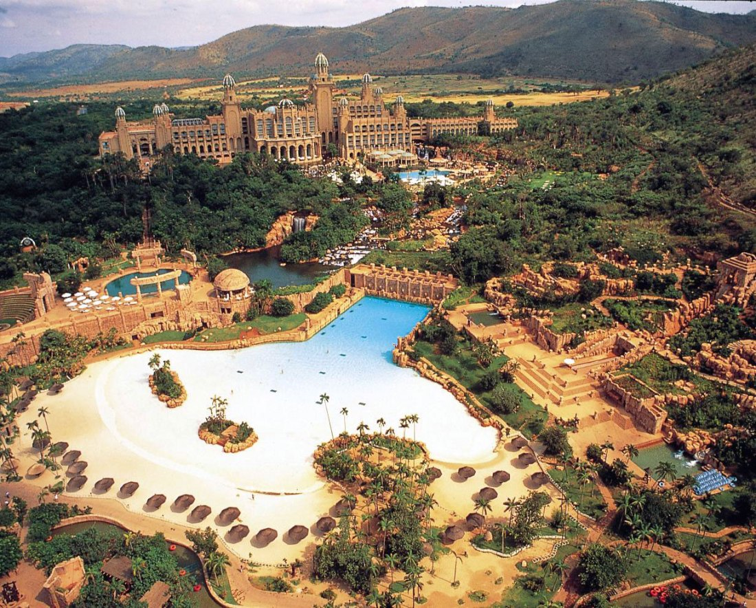 Sun City Resort, Rustenburg, South Africa