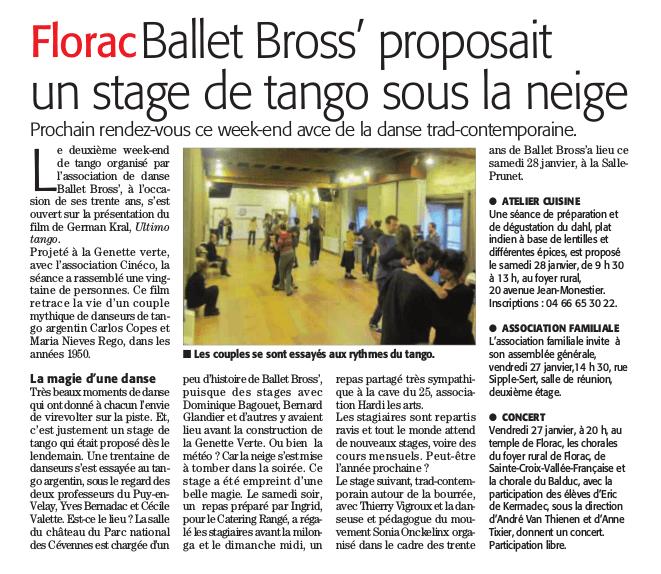 tango à Florac