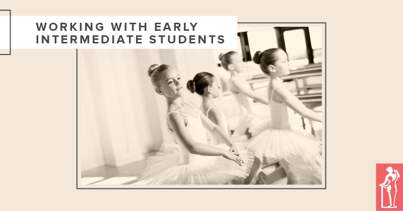Working with Intermediate Ballet Students