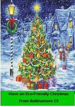 Eco friendly Christmas card