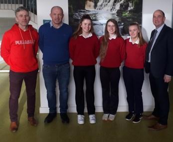 Mr Kane , Mr Mullen, abbi Sweeney, Edel Shanley, Siomha Quinn, Mr Mc Caffrey.