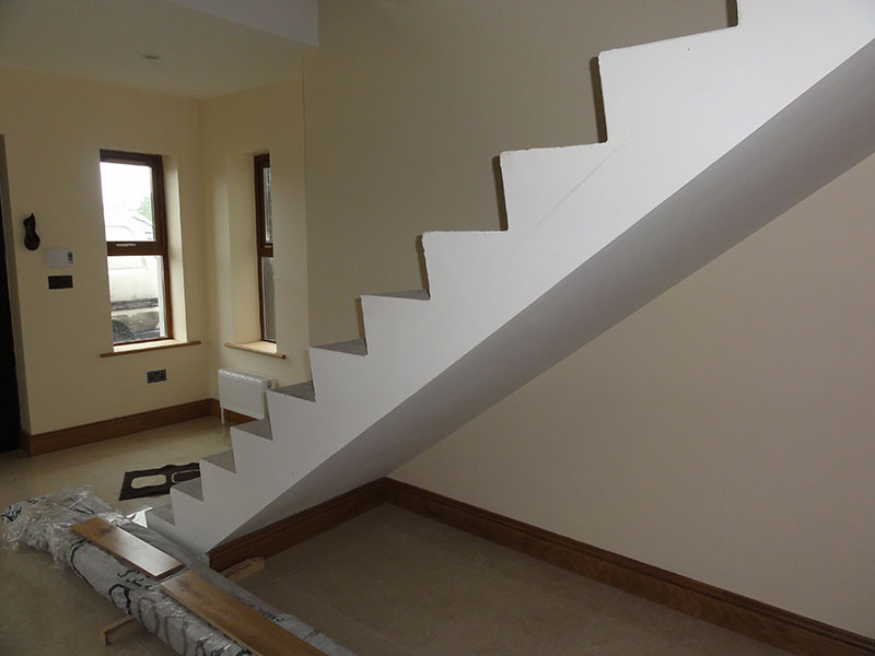 Concrete stairs cladding 2