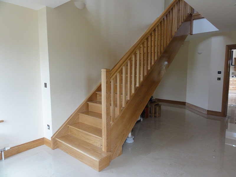 Concrete stairs cladding 4