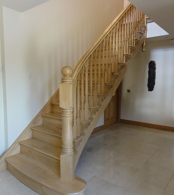 Curved Stairs 139