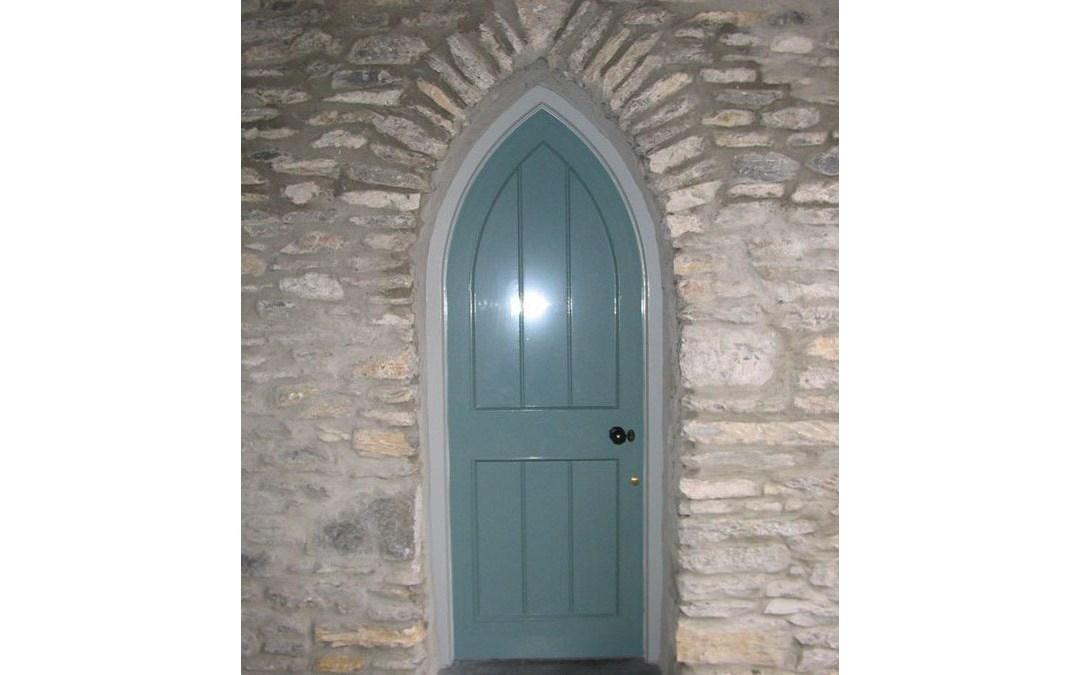 Gothic Door 128