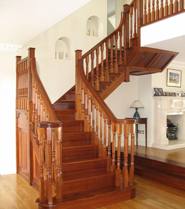 Mahogany Stairs 137