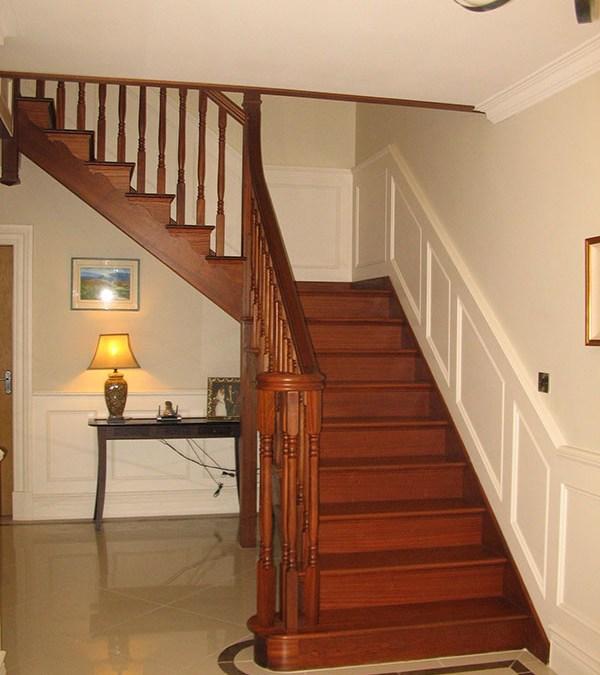 102 Mahogany Stairs