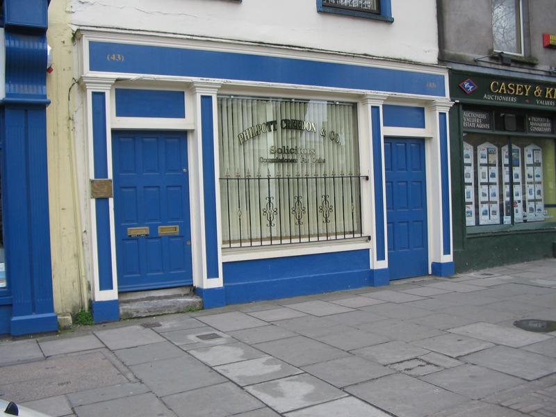 Cork City  Shop front  106