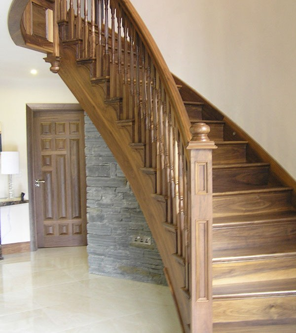 Walnut Stairs 110