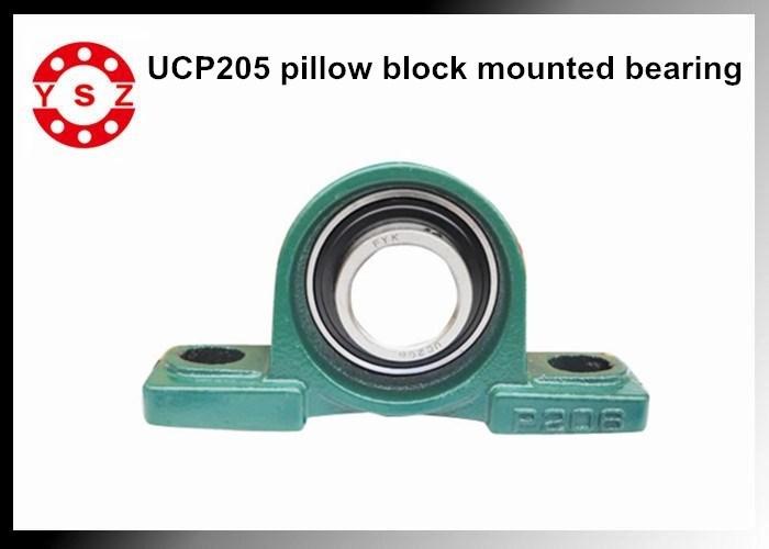 heavy duty pillow block mounted bearings ucp205 long working life