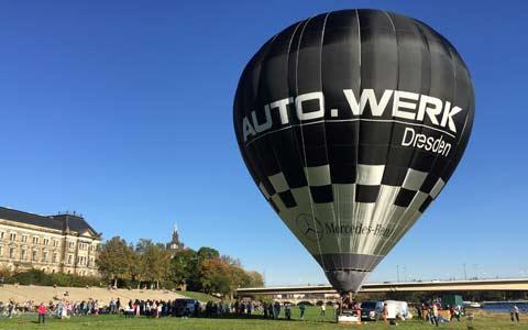 Ballonfahrten in Sachsen